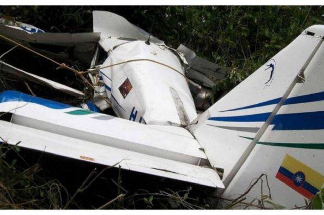 Una avioneta en la que viajaban diez personas se accidentó en el centro de Colombia. Todos los pasajeros murieron. El aparato cayó cerca del municipio de Mariquita, en el departamento de Tolima. foto edh /elespectador.com