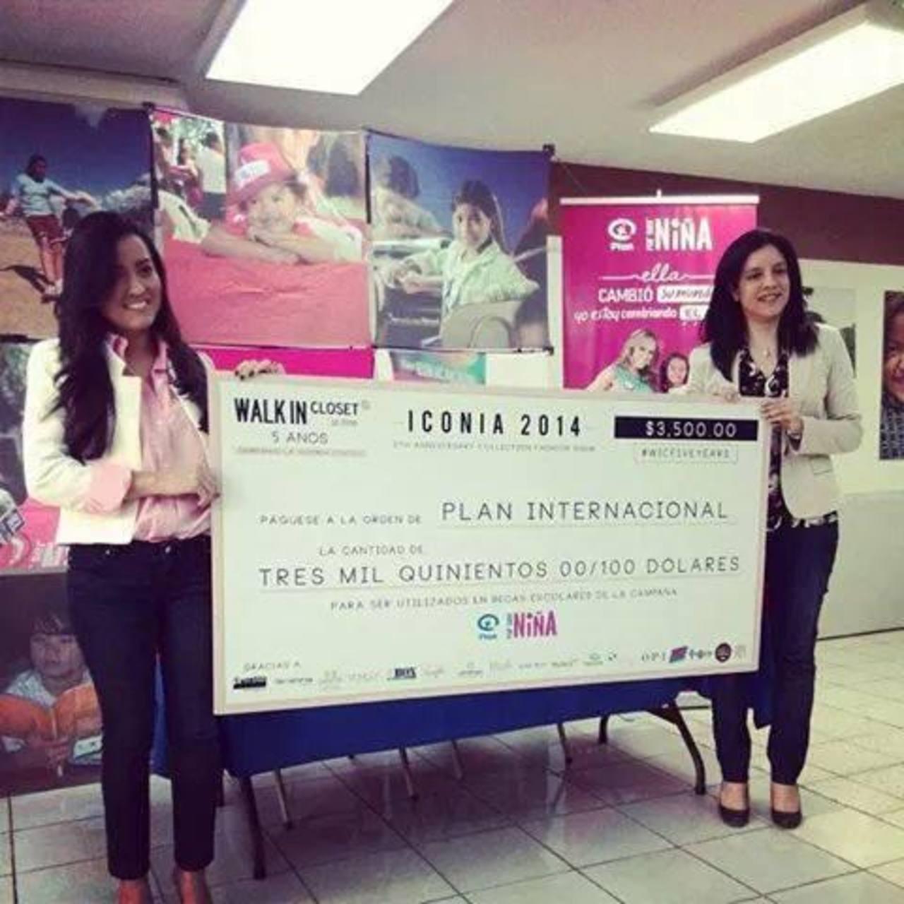 Carmen Elena Alemán, de Plan; y Fátima Quijada, propietaria de Walk in Closet. FOTO edh / cortesía