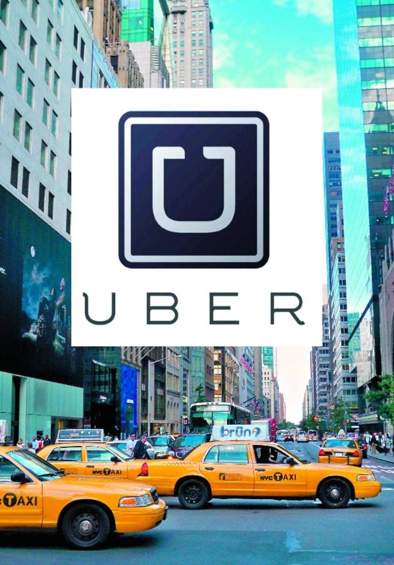 La aplicación Uber permite solicitar servicio de taxi y transporte de lujo en Estados Unidos y otros países.