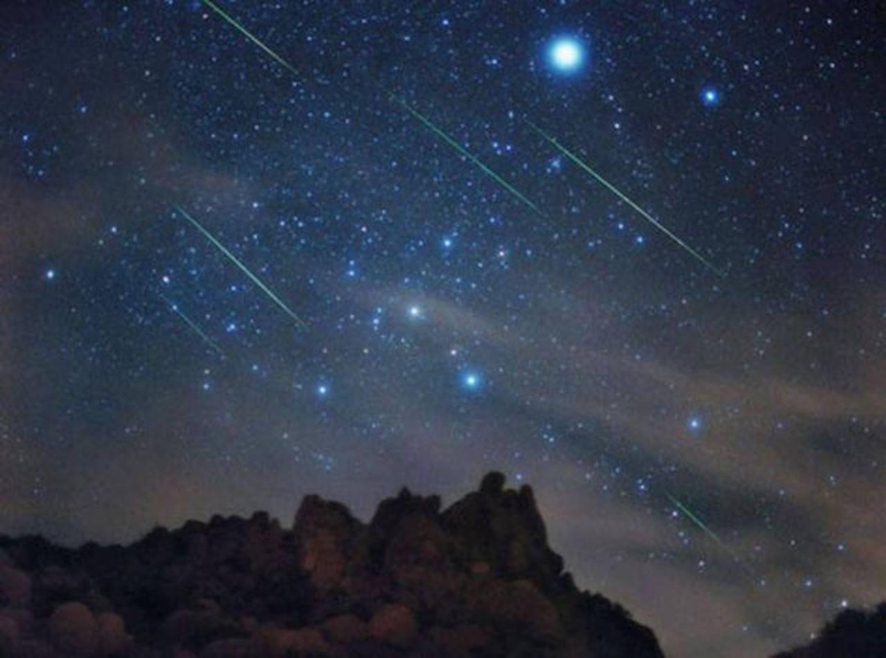 Lluvia de meteoros Gemínidas iluminará la noche en El Salvador