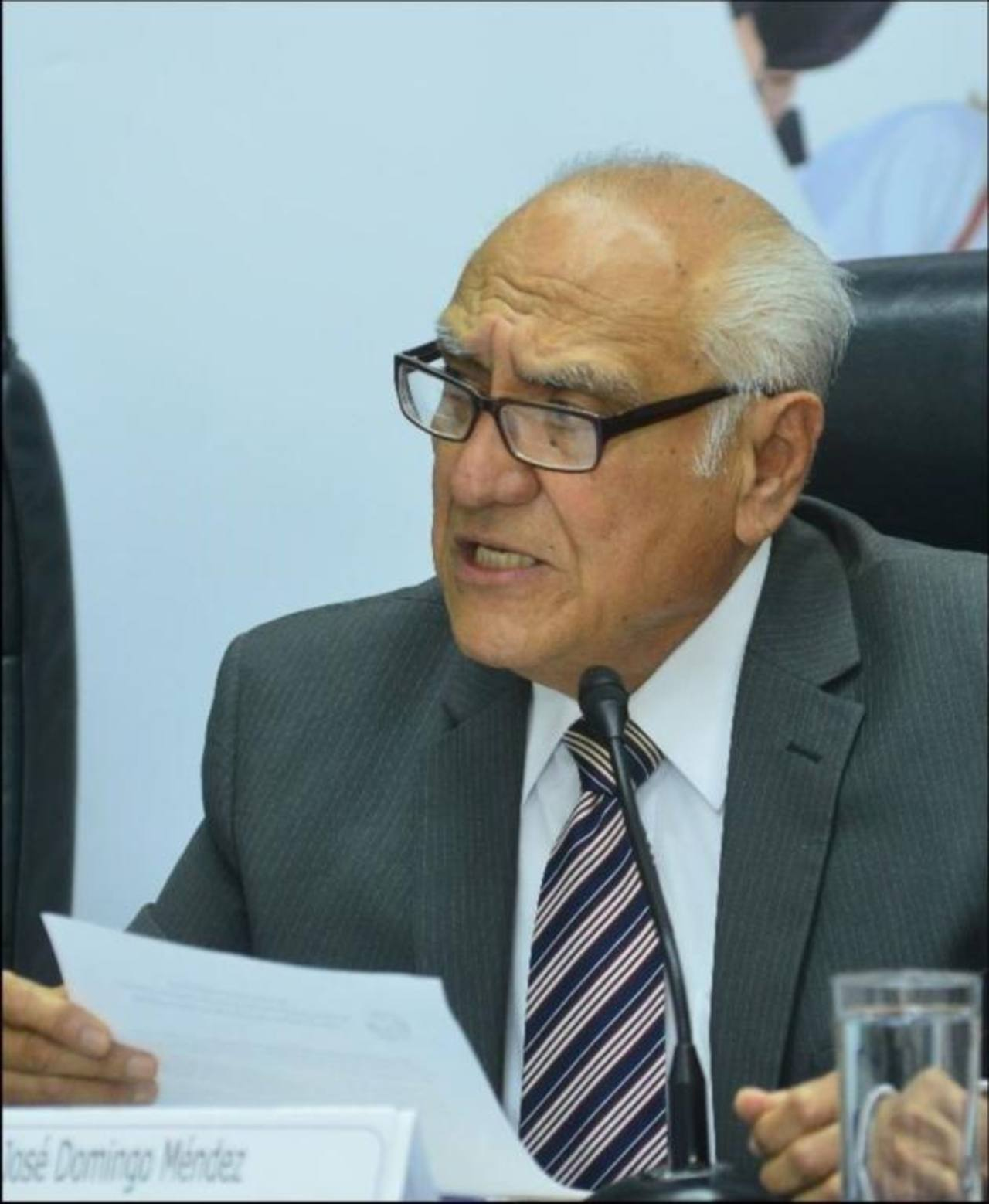 Domingo Méndez, representante de Aliados por la Democracia