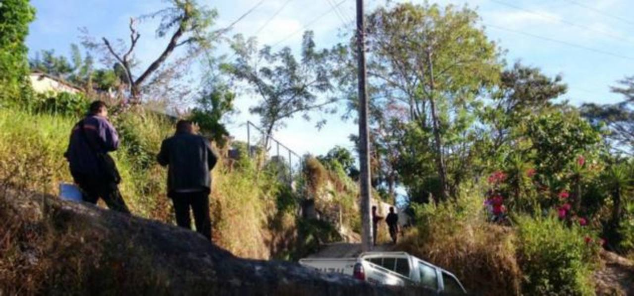 A reconocer un pandillero que murió al enfrentarse con la policía en Cojutepeque.