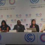 Inicio de la conferencia South-South exchange on water security in a changing climate de #COP20Lima.