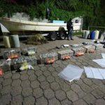 Prisión a guatemaltecos implicados en tráfico de drogas