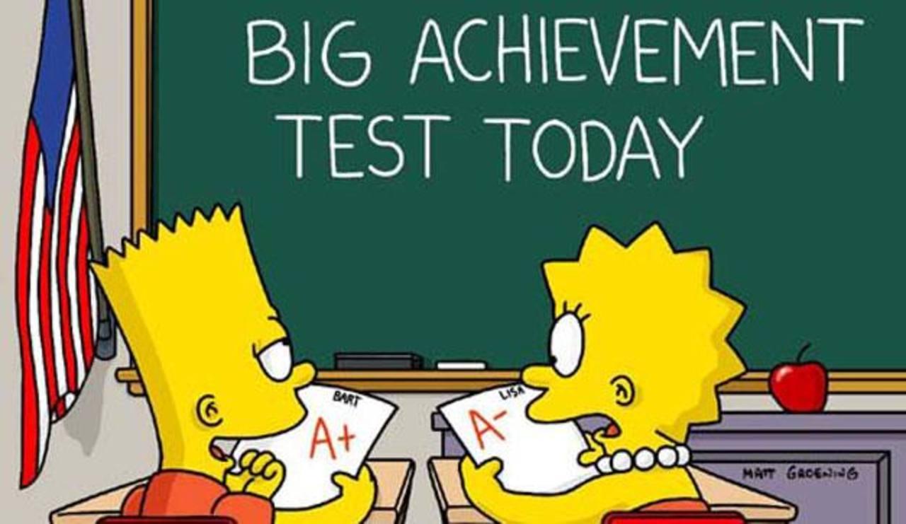 Profesores imparten cátedras con Los Simpson