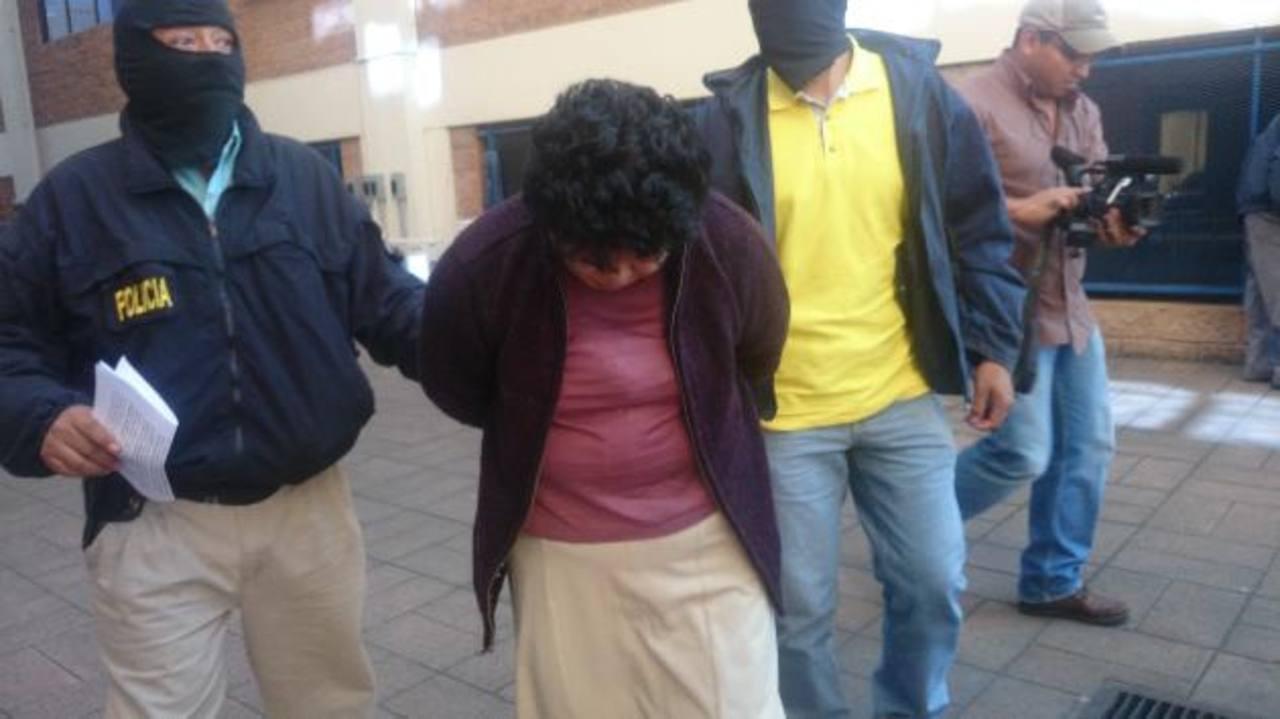 Sonia del Carmen Morales de Mendoza, acusada de blanqueo de capitales. Foto EDH / Archivo.