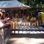 FOTOS: Feligreses se preparan para celebrar a la Virgen de Guadalupe