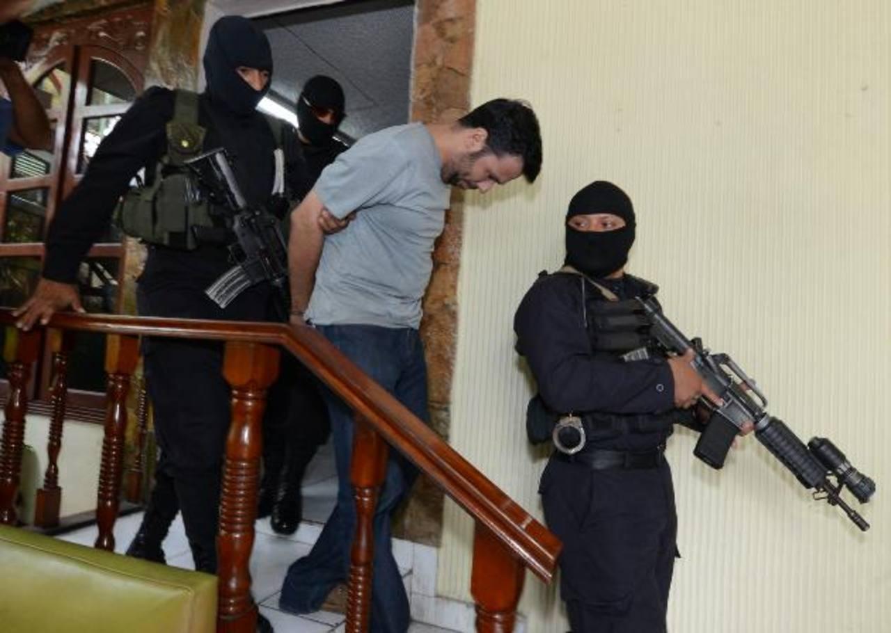 Rodrigo Chávez Palacio es procesado supuestamente por desmembrar a un amigo suyo. Foto EDH/ ARCHIVO