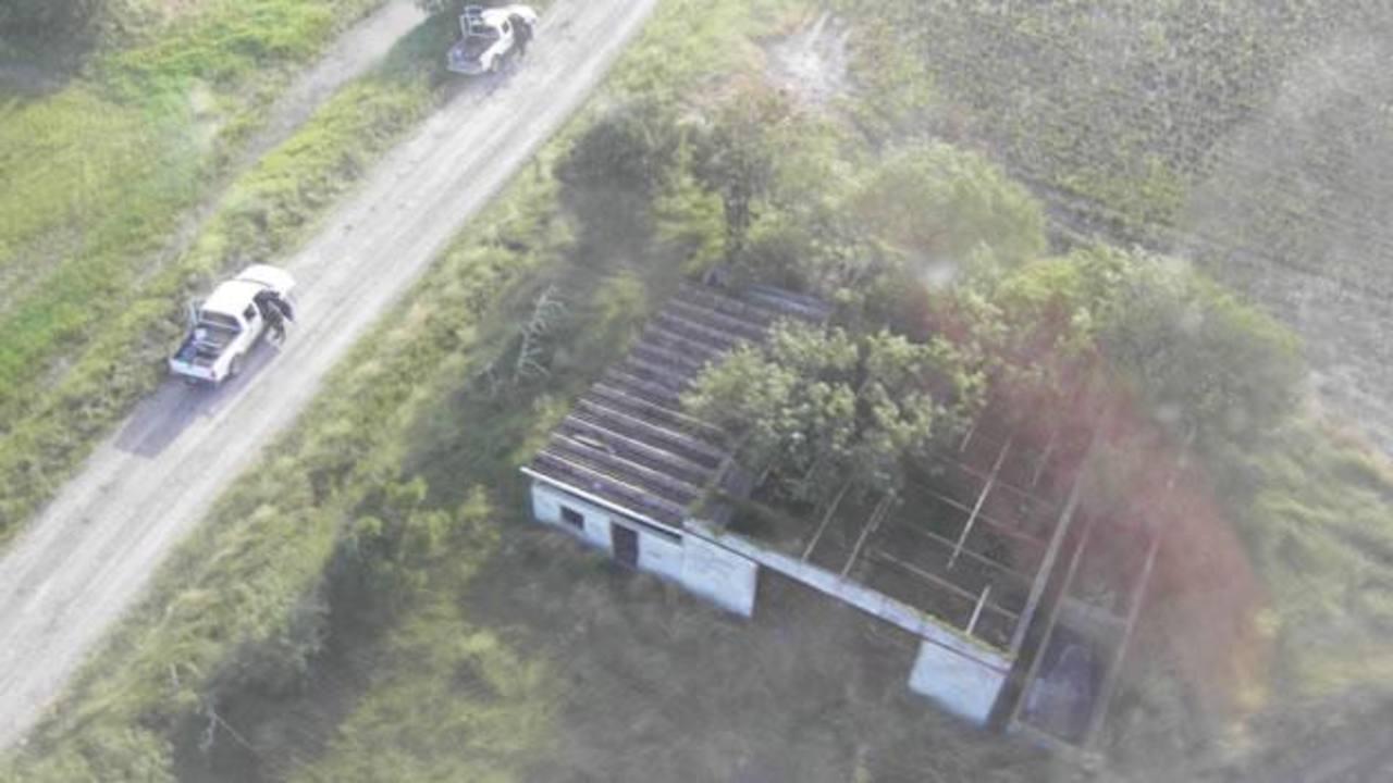 El rancho en San Fernando, Tamaulipas, en donde fueron encontrados 72 cadáveres de migrantes, en agosto de 2010. foto edh / archivo