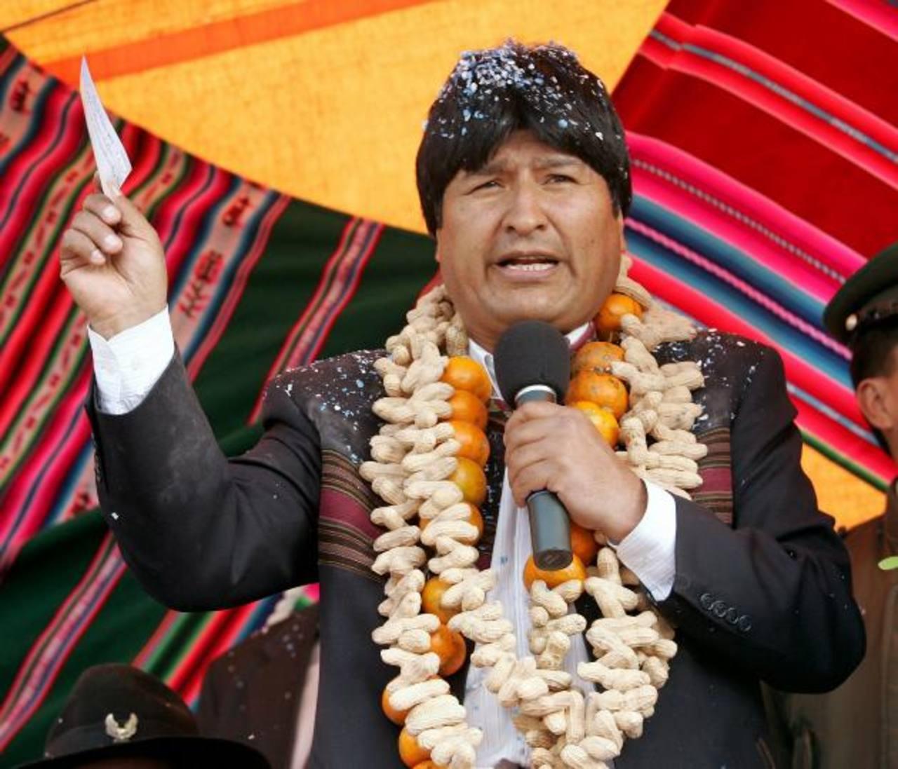 Human Right Watch ha pedido al gobernante de Bolivia, Evo Morales, que reforme alguna leyes. foto edh / internet