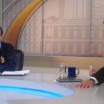 El fiscal Luis Martínez durante la entrevista Frente a Frente.