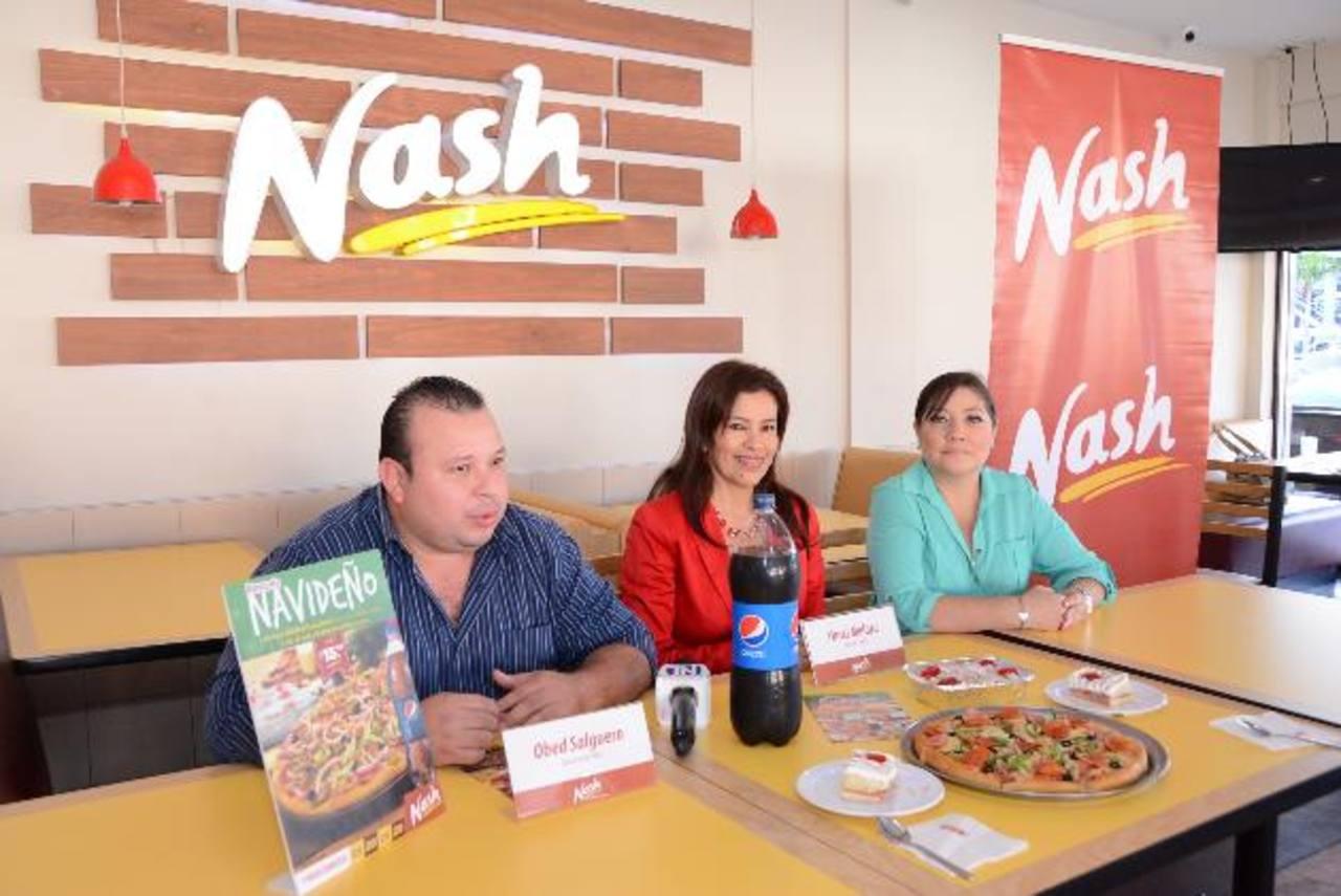 Nash espera que los salvadoreños aprovechen esta época para compartir. foto edh / Mario Díaz