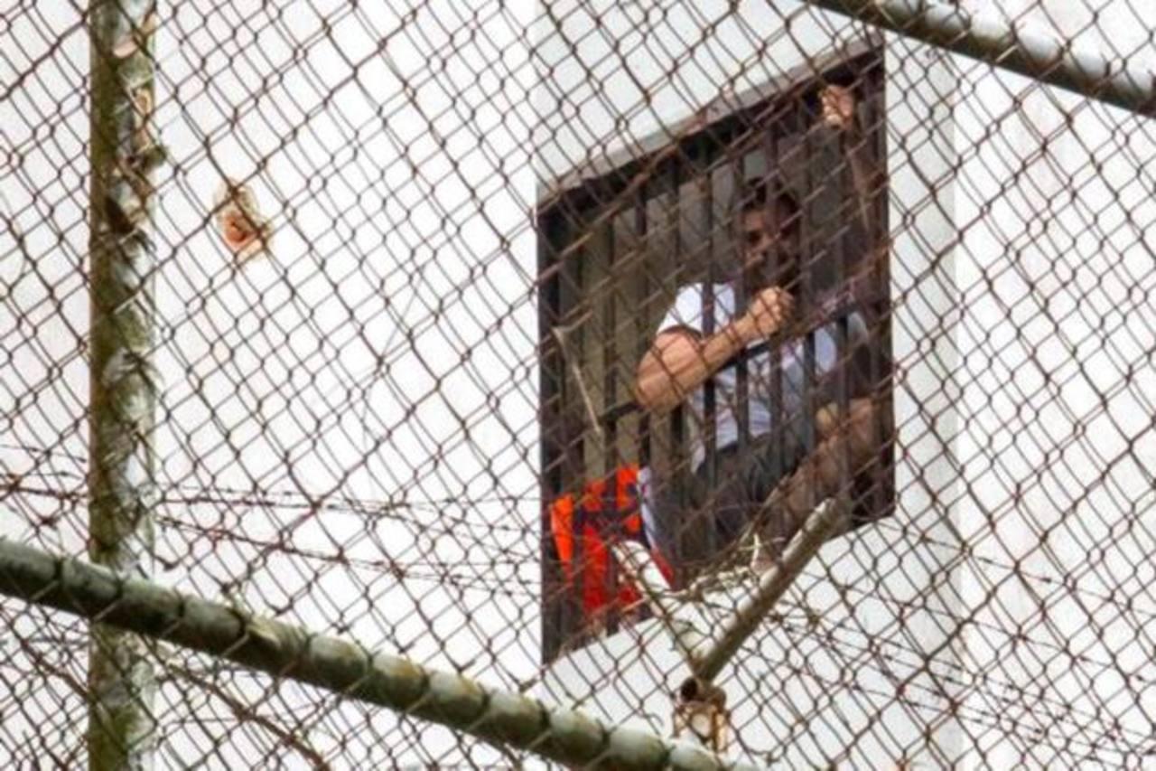 Imagen del líder opositor, Leopoldo López, detenido en la cárcel militar de Ramo Verde. foto edh / internet