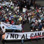 Protestas contra canal de Nicaragua continuarán en pie, afirman manifestantes