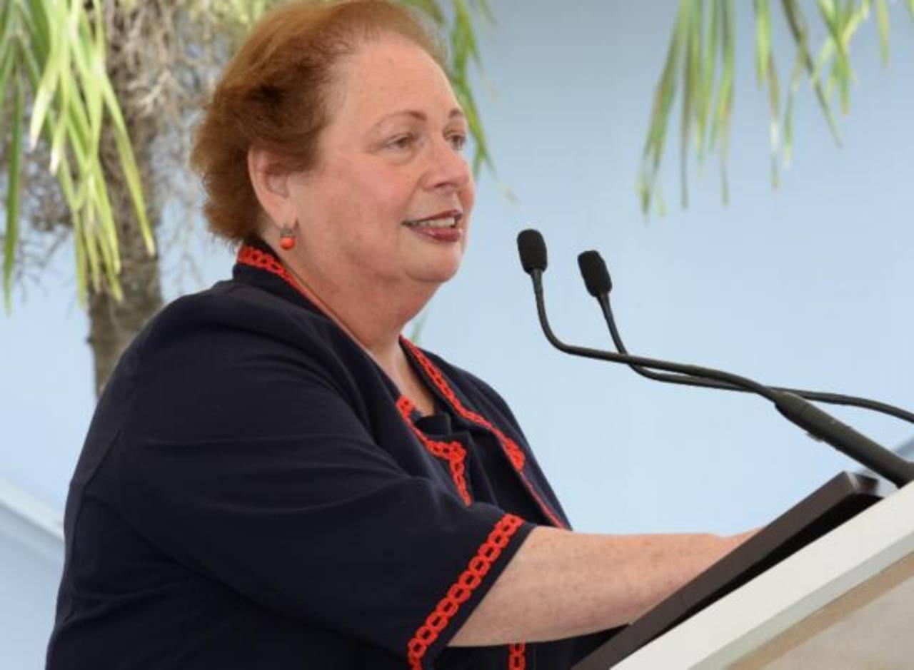 Embajadora Aponte: Departamento del Tesoro de EEUU estudia posible sanciones para El Salvador