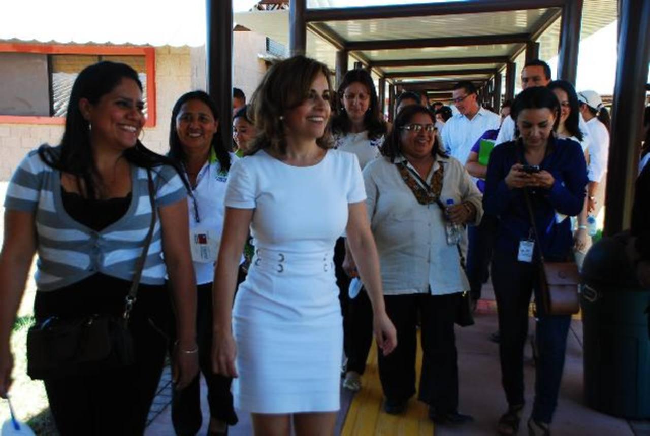 El centro de Ciudad Mujer fue inaugurado ayer en Morazán. Foto EDH / Jenny Ventura