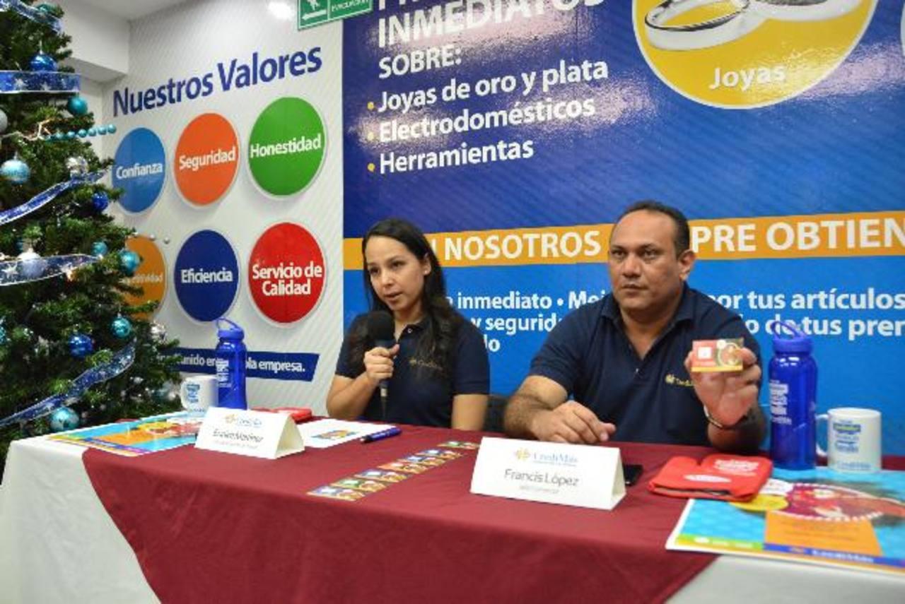 Durante la presentación, representantes dieron a conocer la campaña de Navimás. Foto EDH/ David Rezzio