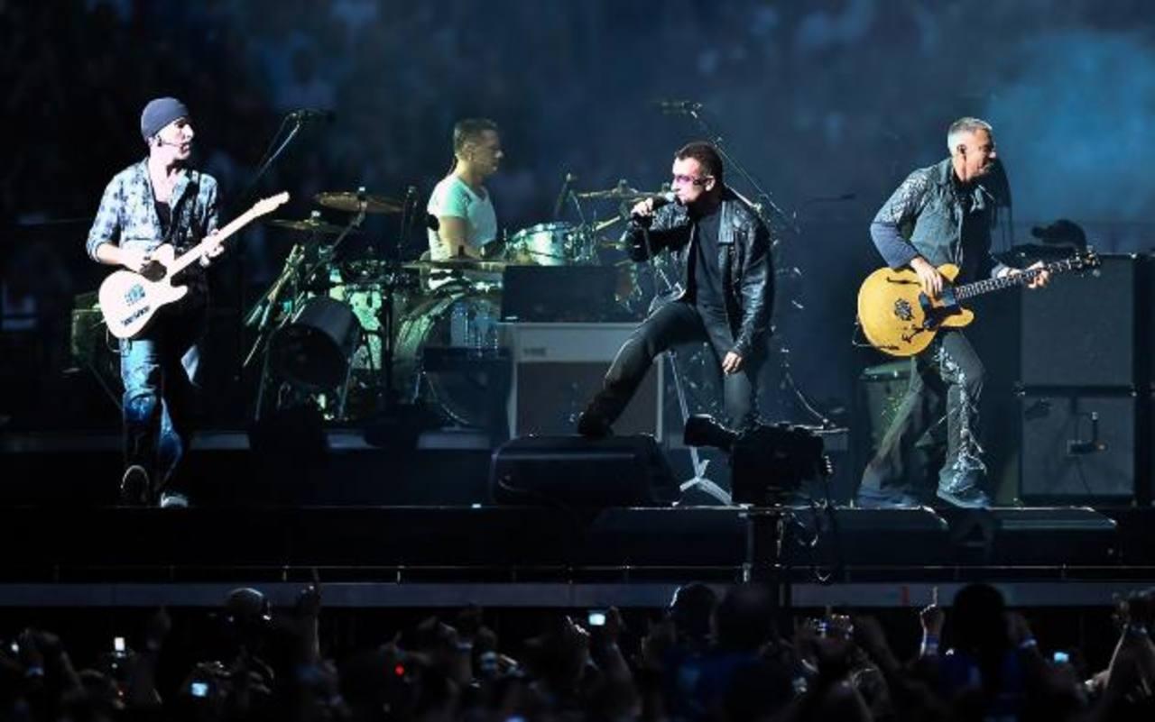 U2 anuncia gira por 19 ciudades de EE.UU. y Europa