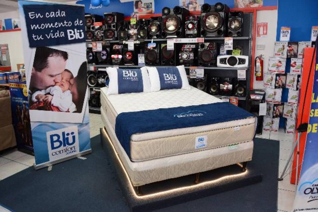 Cinco nuevos modelos de camas Olympia ofrecerá la cadena Prado. Foto EDH / Mario Díaz