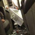 Impactante video: Turbulencia en vuelo deja 12 heridos