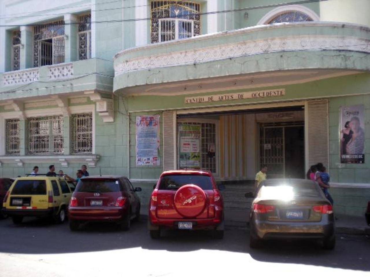 Oficinas del Centro de Artes de Occidente (CAO), que a pesar del sistema de vigilancia electrónica con cámaras de circuito cerrado, no se escapó de la delincuencia. fotos edh / cristian díaz