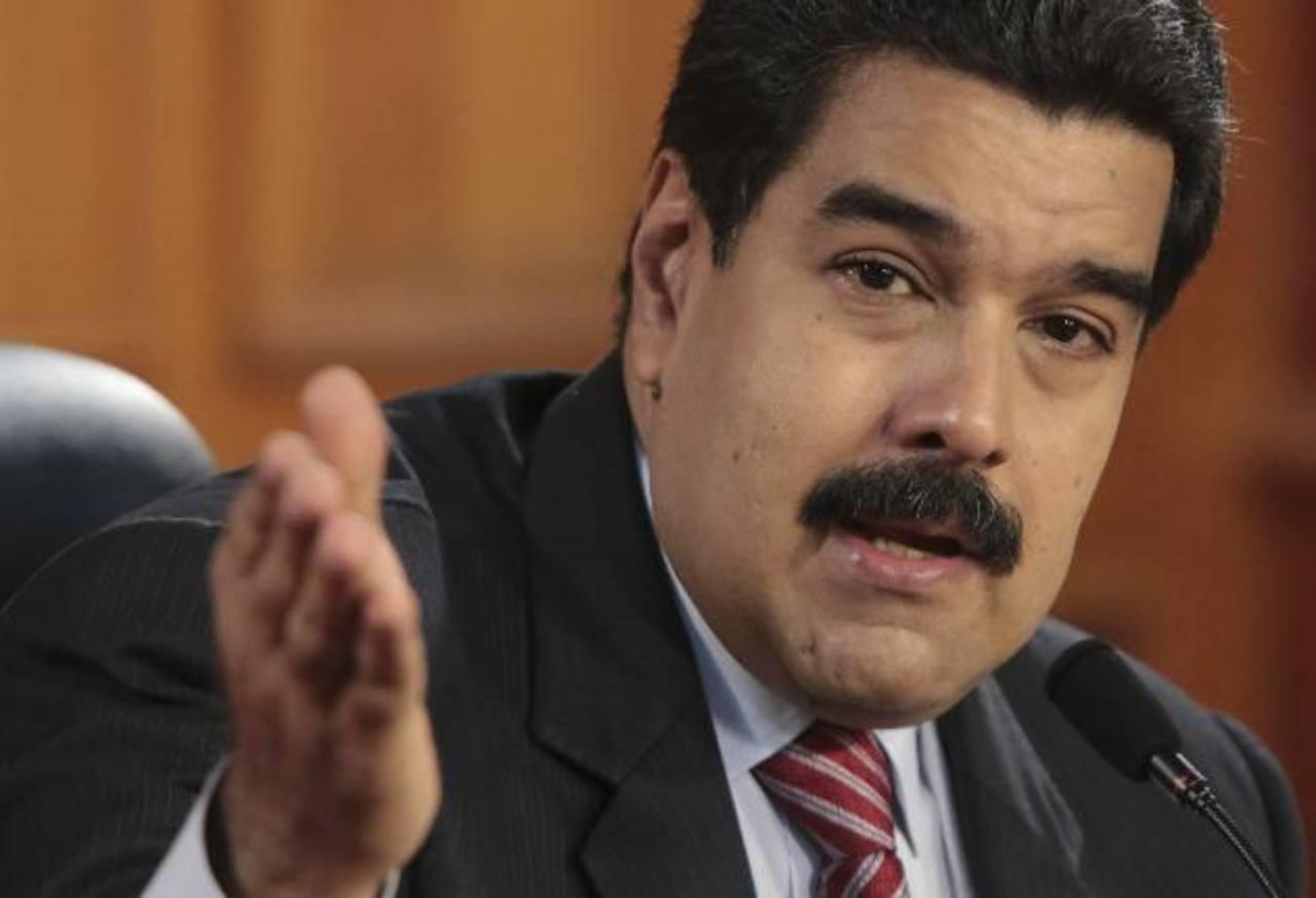 El presidente de Venezuela, Nicolás Maduro, en el Palacio de Miraflores, sede del gobierno, el 2 de diciembre. edh / archivo