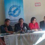 APES rinde informe de libertad de expresión.