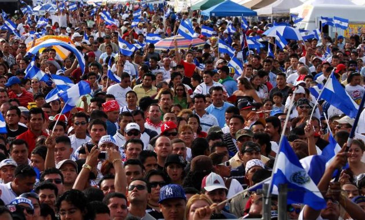 Salvadoreños en Estados Unidos.