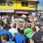Las autoridades edilicias de Soyapango culpan a los sindicalistas por no permitir que los camiones recolecten en su totalidad los desechos en el municipio. Fotos EDH / cortesía