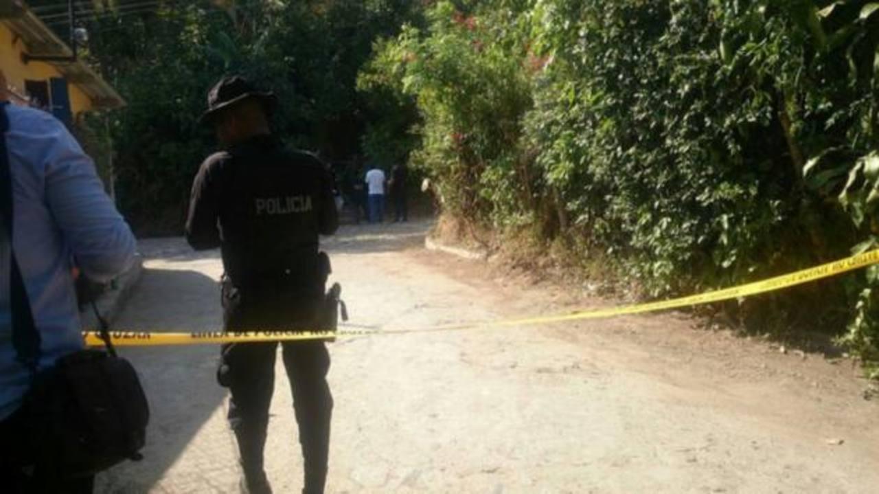 Pandillero muere a tiros, lanzó granada a policías