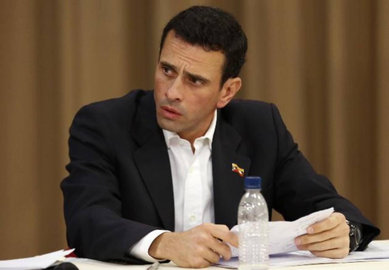 Henrique Capriles advirtió de las consecuencias por el bajo precio del petróleo. Foto edh /