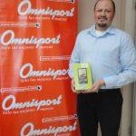 Arsenio Fuentes fue el ganador de la tablet Acer de última generación. FOTO EDH/ cortesíaLa tablet Acer entregada es de última generación y de la mejor calidad. FOTO EDH/ cortesía