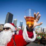 Fotos: Miles de Santa Claus inundan Nueva York
