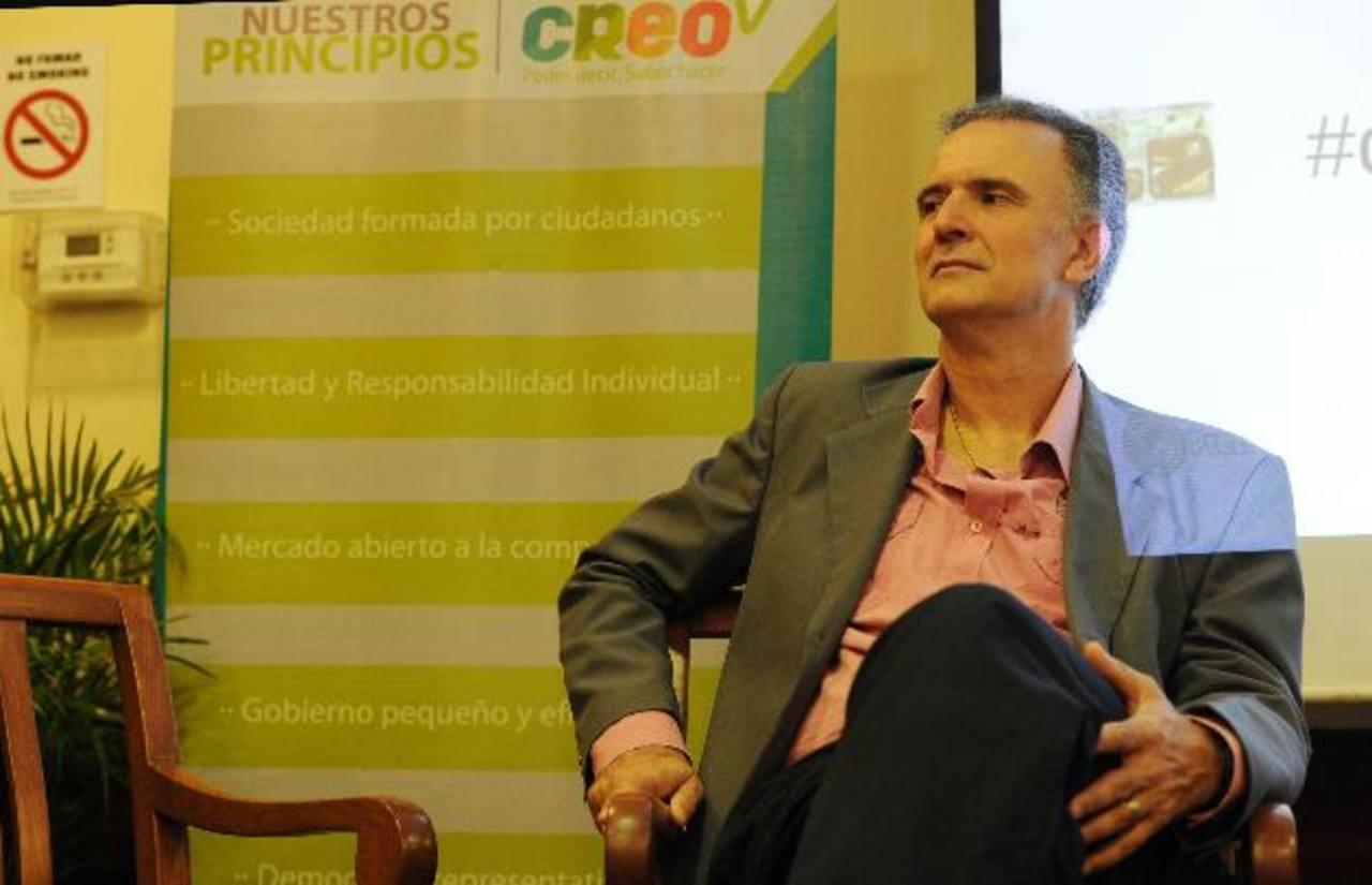 Daniel Santoro expuso la realidad del periodismo investigativo en Argentina y Latinoamérica. foto edh / claudia castillo.