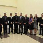 La juramentación de los nuevos funcionarios tuvo lugar el viernes anterior. Foto / Cortesía