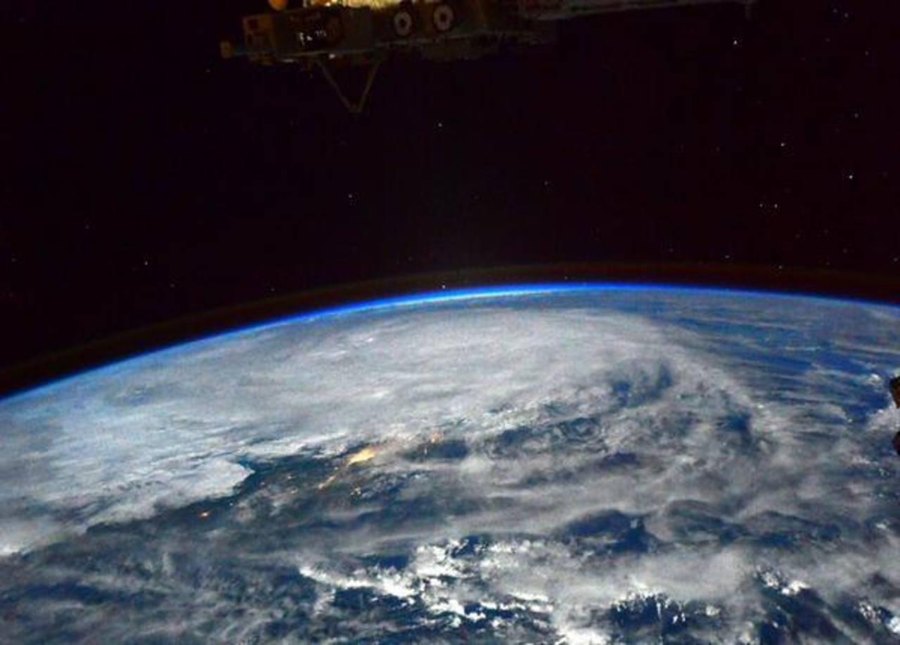 Así se observa el fenómeno atmosférico desde la Estación Espacial Internacional