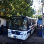 Este bus trasladó a los presos a los penales.