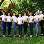 Son diez señoritas las que participarán para llevarse la corona del municipio, ellas pertenecen a diferentes barrios y colonias de la ciudad. Foto EDH / Julio César Avilés.