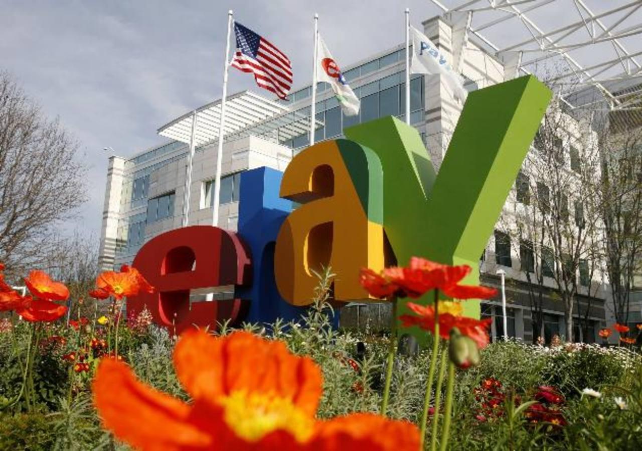 Ebay fue una de las empresas de comercio electrónico que experimentaron un incremento en sus ventas. foto edh