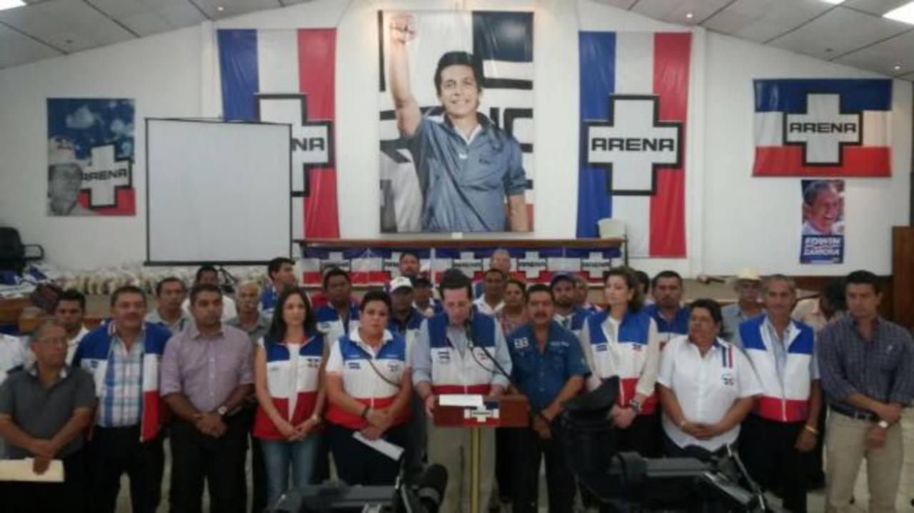 El Coena se pronunció ayer en contra de las acciones impulsadas por el Gobierno de Venezuela. foto edh / CORTESÍA ARENA