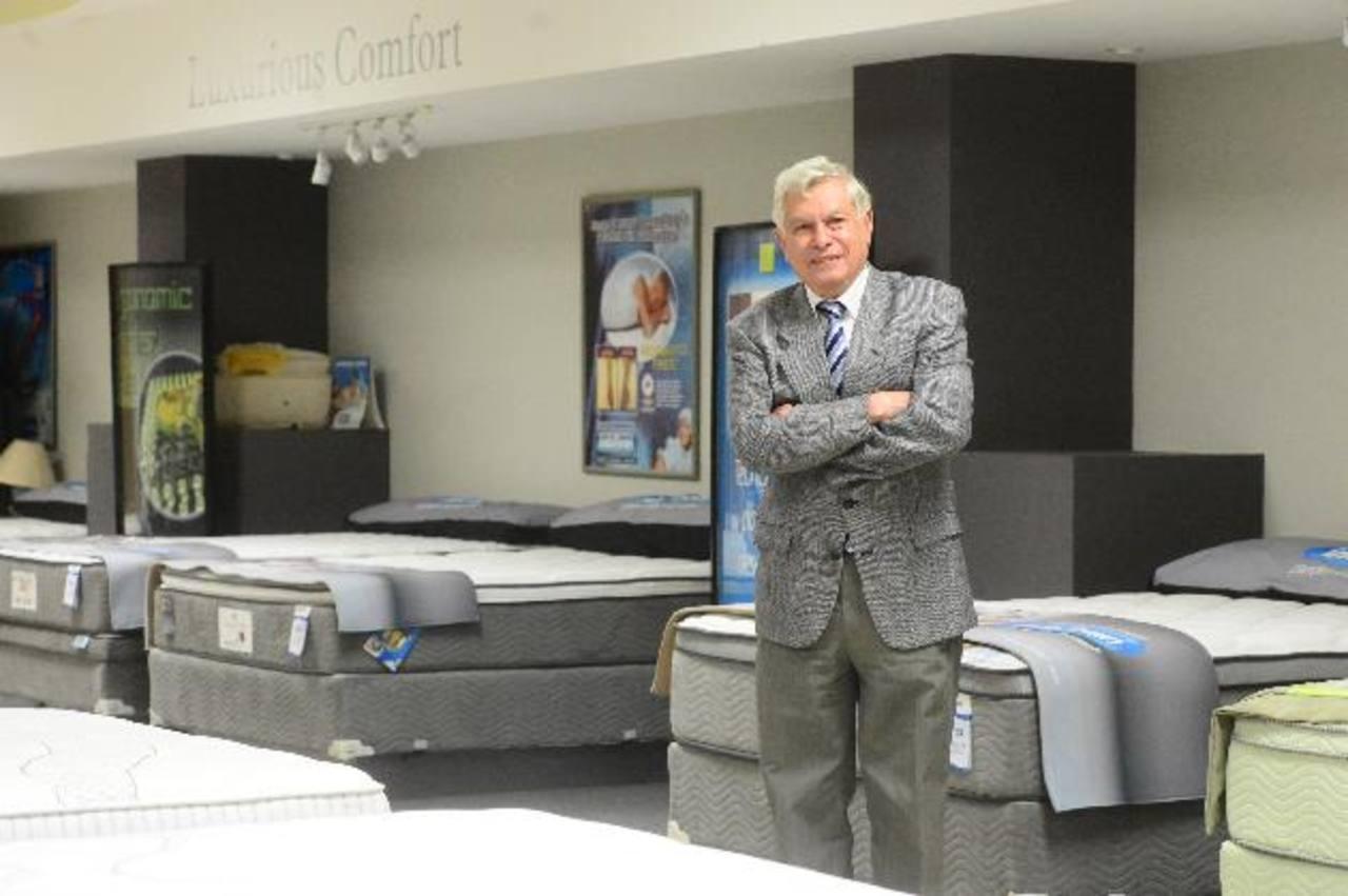 René Toruño, presidente de Indufoam, dice que espera mantenerse como un referente en la industria de camas en Latinoamérica.