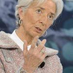 Christine Lagarde, en un debate en el Foro Económico Mundial, dijo que la excesiva desigualdad no propicia un crecimiento sostenible.
