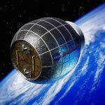 Imagen artística del Módulo Bigelow de Actividad Expandible (BEAM, por su sigla en inglés), que la empresa Bigelow Aerospace planea enviar al espacio este año, para ponerlo a prueba.