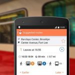 Moovit es una aplicación disponible gratuitamente para iPhone, Android, y Windows Phone. Da acceso en tiempo real a rutas de transporte.