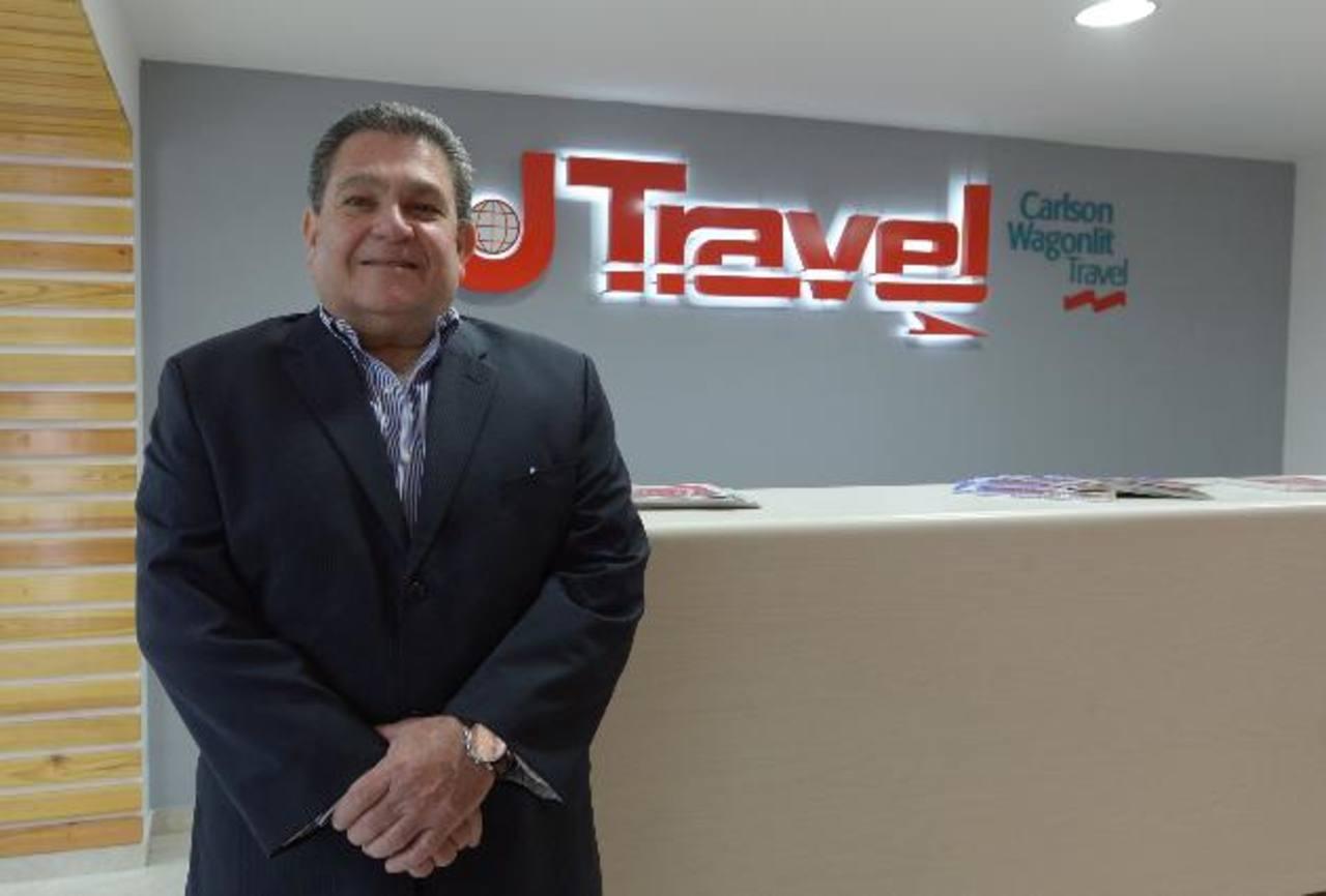 Juan Federico Salaverría, presidente de la agencia de viajes U Travel.