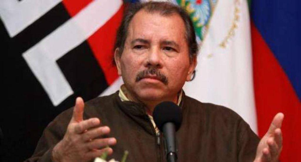 Daniel Ortega, gobernante sandinista nicaragüense.