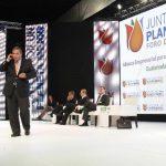 Carlos Arroyo, director general de Walmart México y Centroamérica, expresó su determinación por impulsar el desarrollo económico y social por medio de la alianza empresarial. Foto EDH / ArchivoLa Alianza Empresarial para la Sostenibilidad impulsada p