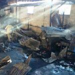 La comuna capitalina hará puestos provisionales para comerciantes afectados con el incendio.