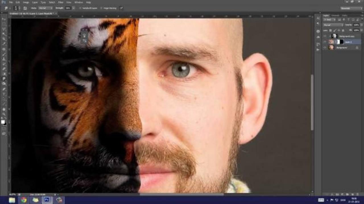 El antes y después del Photoshop