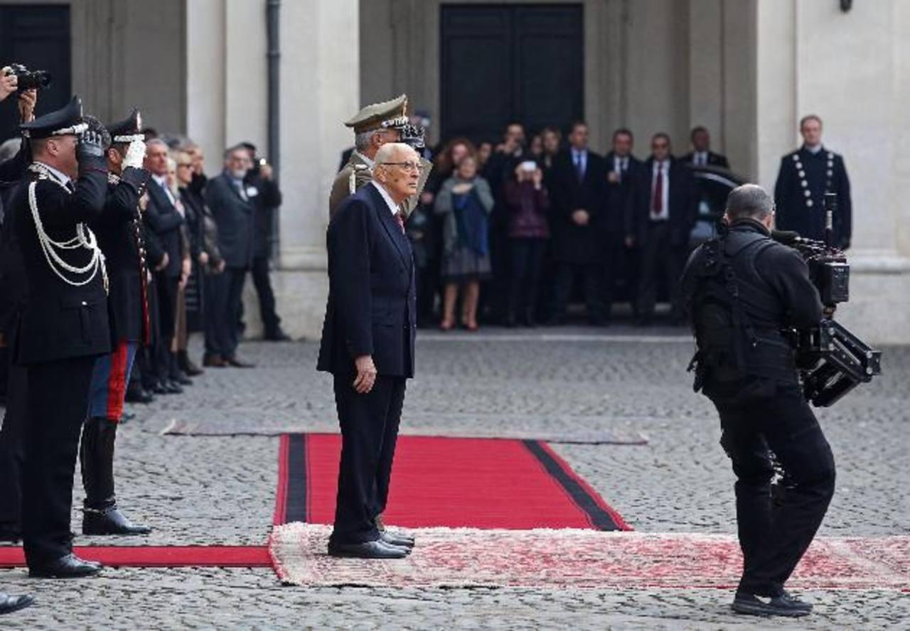 Presidente de Italia dimite tras casi nueve años en el cargo